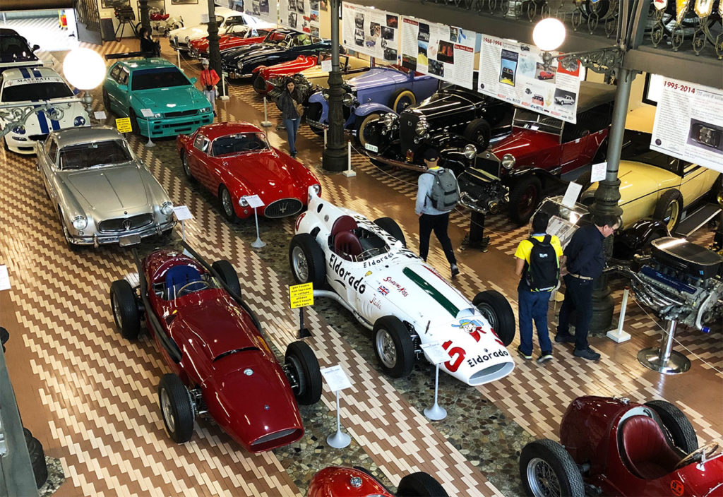 Car factory tour in the Italian Motor Valley