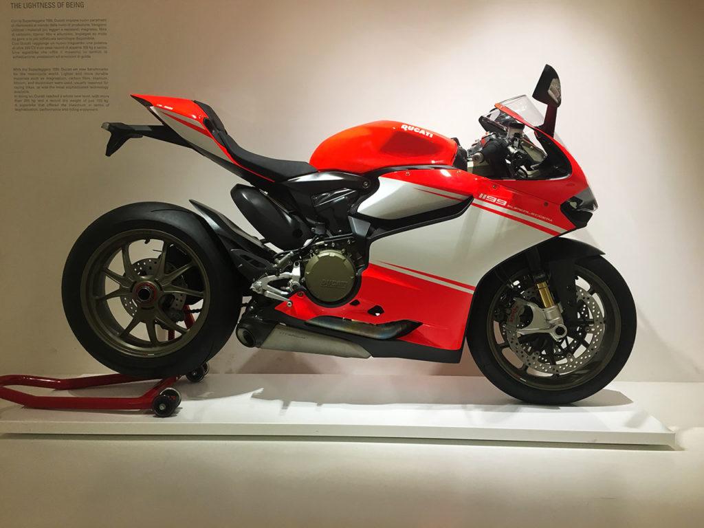 Ducati Factory Tour