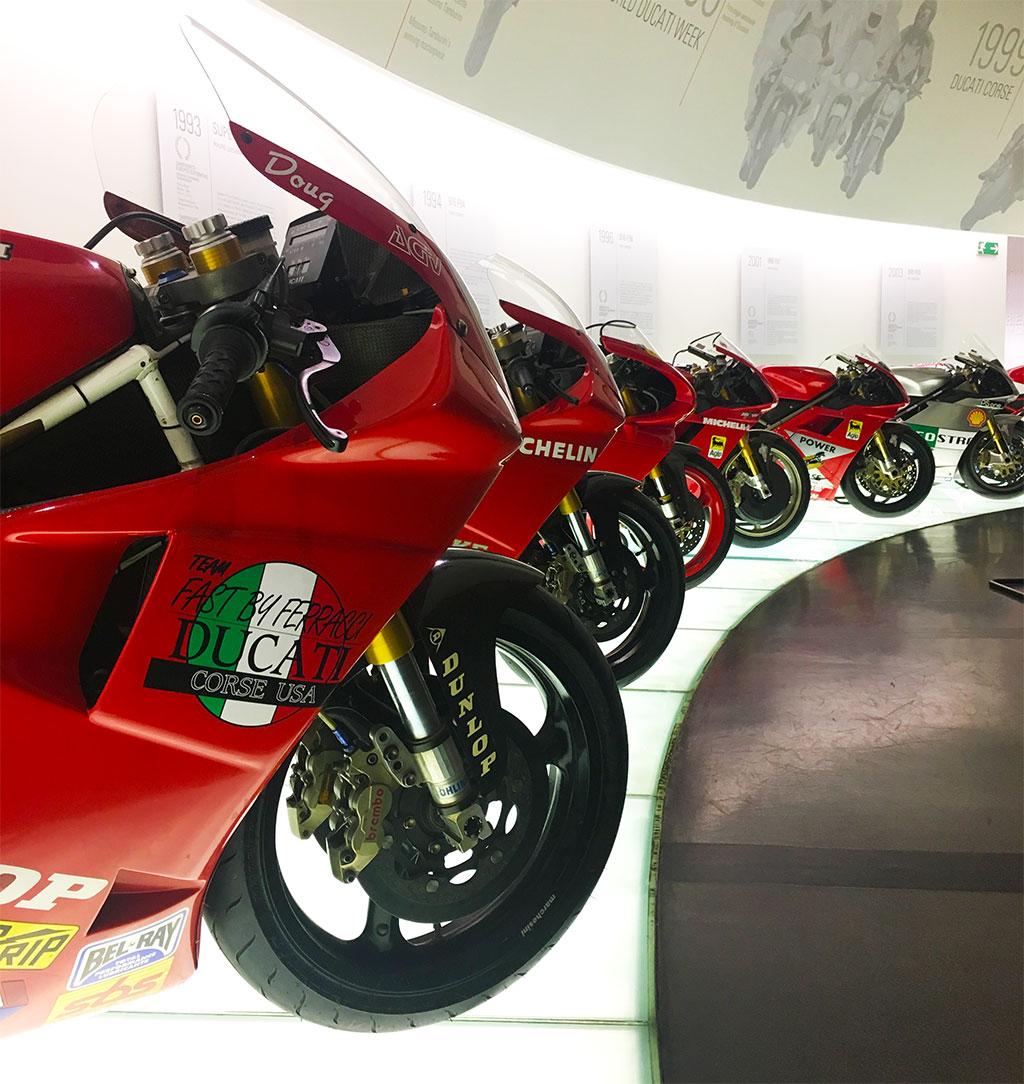 Ducati Museum Visit