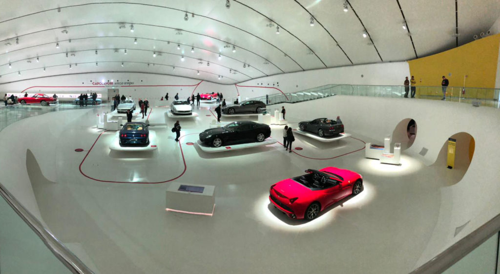 Enzo Ferrari Museum in Modena