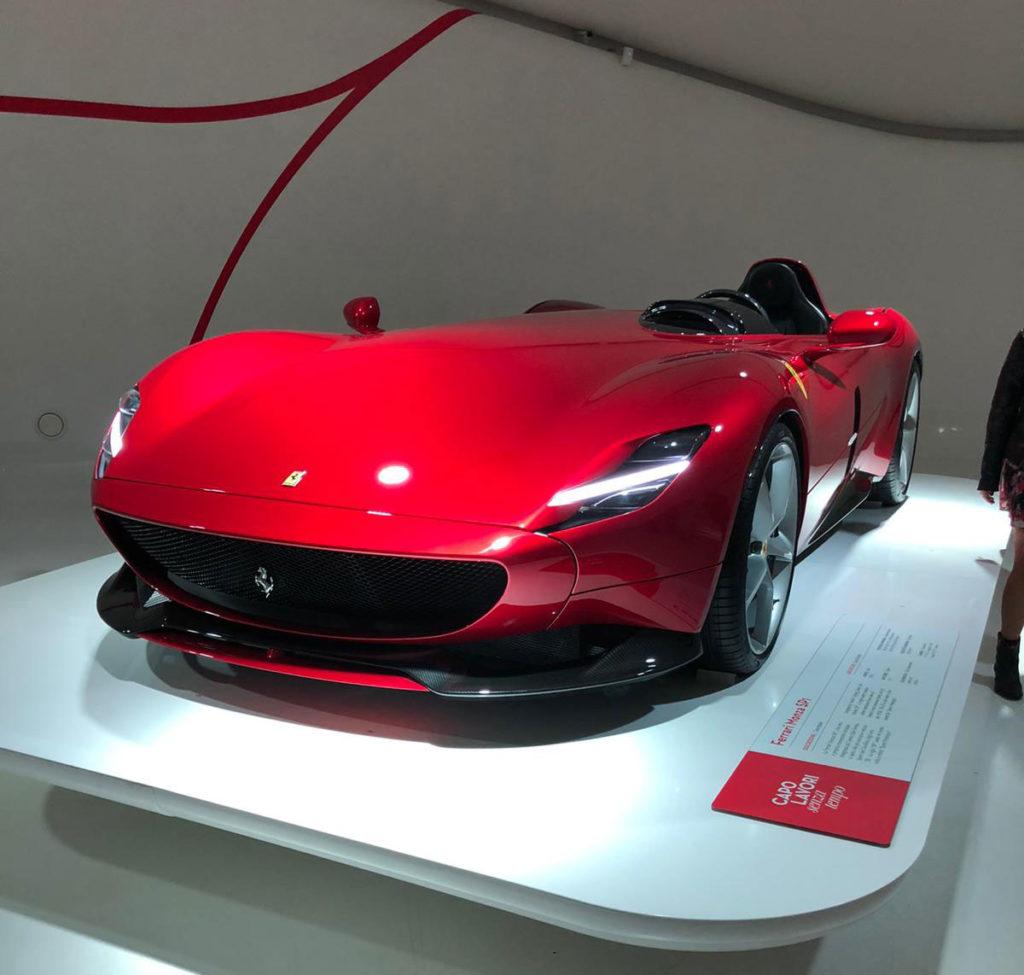 Ferrari Gallery in Maranello Italy