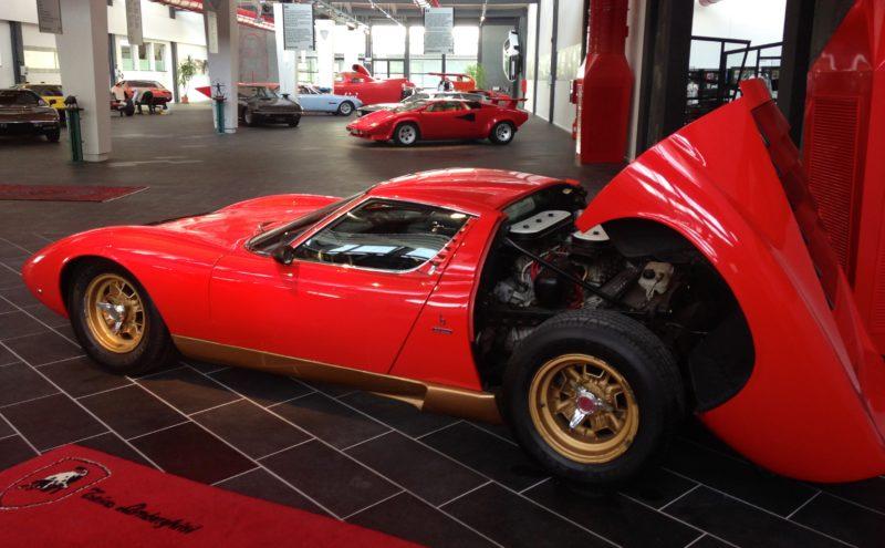 Ferruccio Lamborghini Museum - Miura