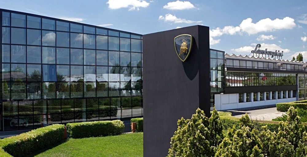 Lamborghini factory tour - Lamborghini Headquarters