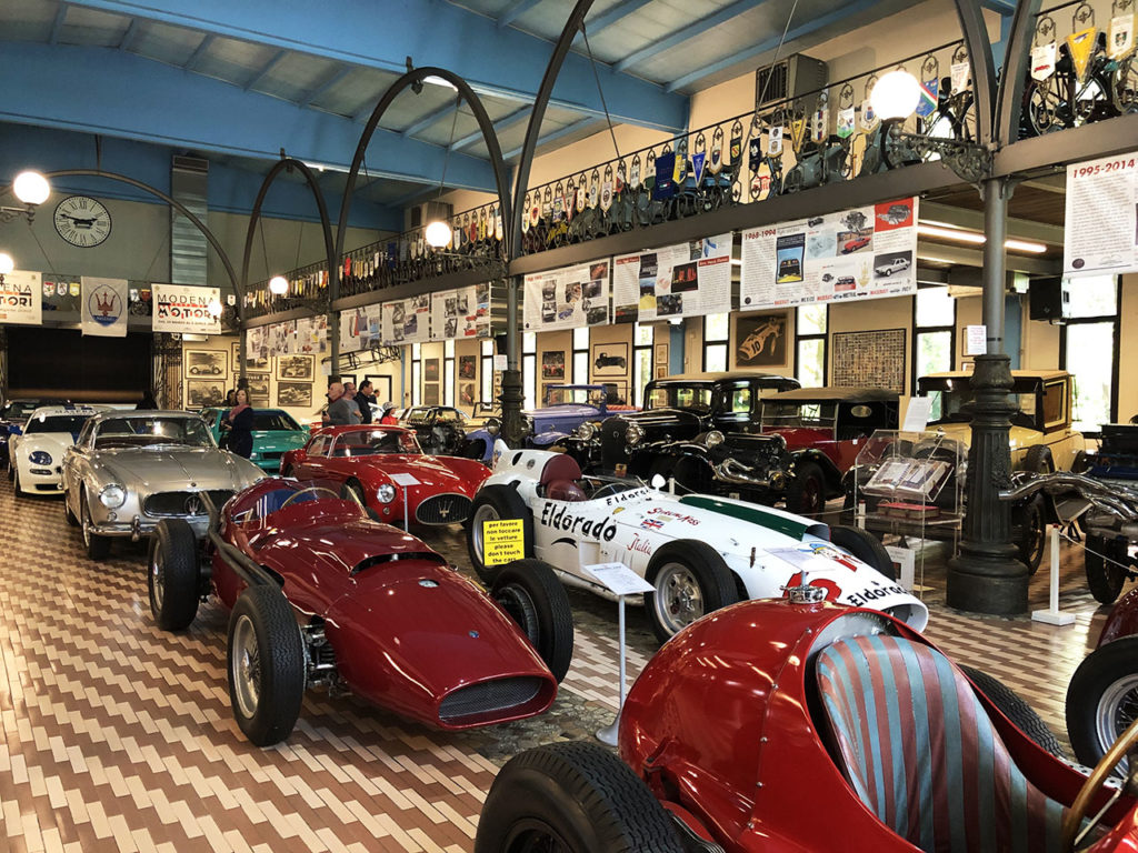 Panini Motor Museum - Maserati Collection Museum visit