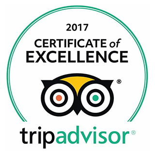 My Motorland TripAdvisor's certificate of excellence